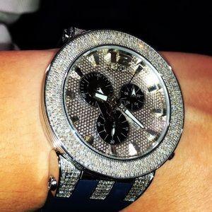 Men's Joe Rodeo Broadway Diamond Watch 5.00 carats